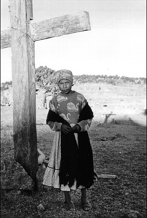 Girl at the Cross